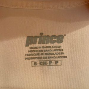Prince Tops - Prince White Athletic Tank Top